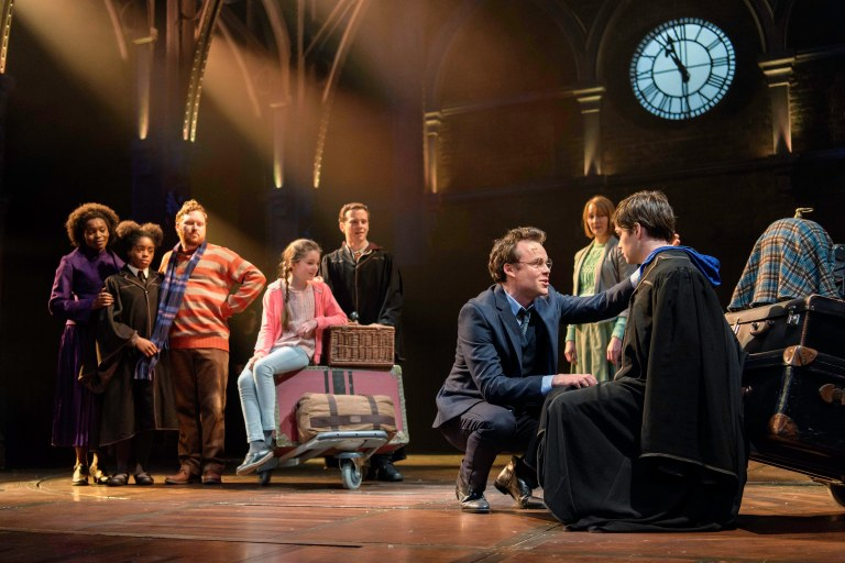 1. Harry Potter and the Cursed Child London 2017-18, photo credit Manuel Harlan